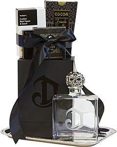Dazzling Deleon Tequila Gift Basket, Tequila Gift Baskets, Deleon Tequila Gifts, Engraved Deleon Tequila,