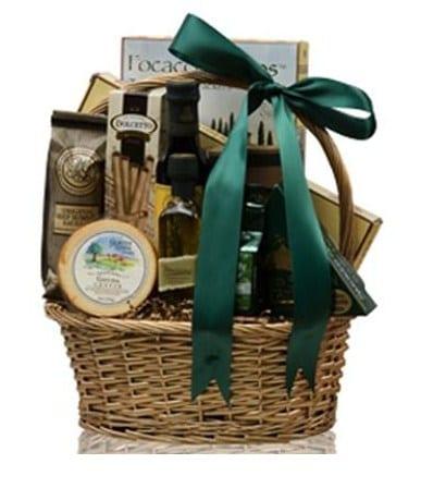 Taste of Italy Gourmet Gift Basket, italian gift basket, gift baskets for dinner, sympathy gift baskets, free shipping gift baskets