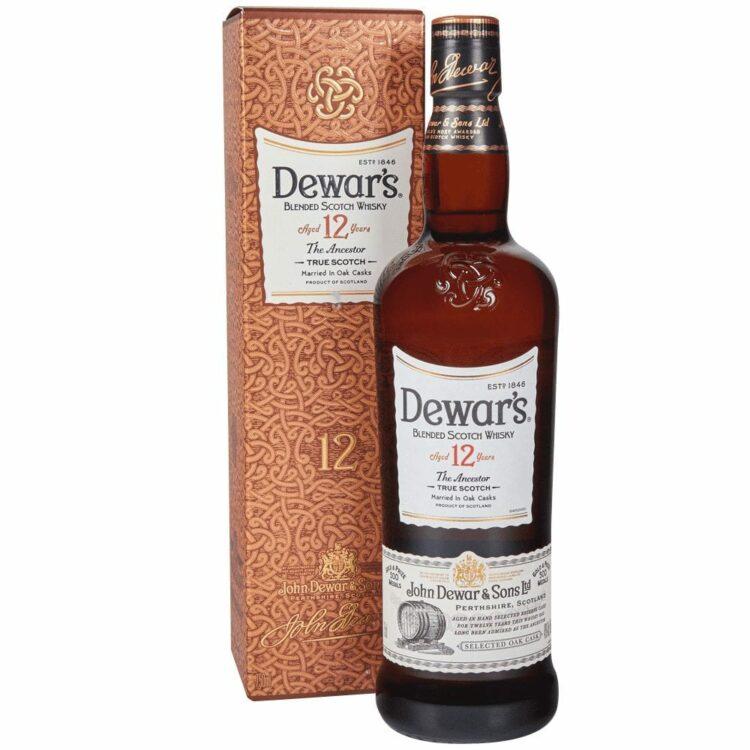Dewar's 12 Year Old Scotch, Dewars Gifts, Engraved Dewars Scotch, Dewars Scotch Gift basket, Dewars Engraving