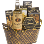 The Perfect Score Vodka Gift Basket