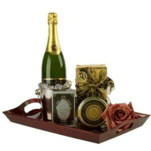 Celebration to Remember Sparkling Wine Gift Basket, Chandon gift basket, sparkling wine gift basket, thank you gift basket, nj gift basket, gift baskets nj, same day gift baskets nj