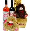 Beary Much in Love Wine Gift Basket