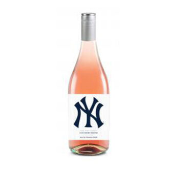 NY Yankees Rose, New York Yankees Wine, Yankees Wine, NYY Wine, Yankees Rose Wine, Unique Yankee Gifts, Gifts for baseball lovers