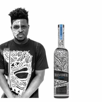Belvedere Vodka Laolu Edition, Belvedere Laolu, Collectors Belvedere, Limited Edition Belvedere, Black and White Belvedere, Mandala Belvedere