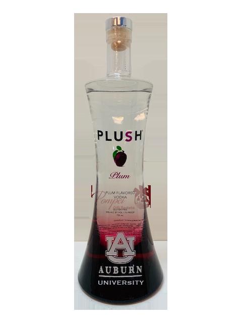 Auburn University PLUSH Plum Vodka, Auburn Alumni PLUSH Vodka, Engraved PLUSH Vodka, Plush plum vodka, plum vodka, nfl vodka, ny jets vodka, auburn vodka, AU Alumni Plum Vodka,