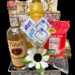 Quarantini Vodka Gift Basket