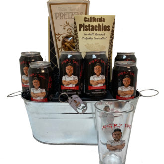 Classic Angry Dad Beer Gift Basket, Best Father's Day Beer Gift Basket, Fathers Day Gifts, Beer Baskets, Gifts for Dad, Custom Gifts for Dad, Beer Gifts for Him, Angry Dad Beer, Angry Dad Brewing, Where to buy Angry Dad Beer