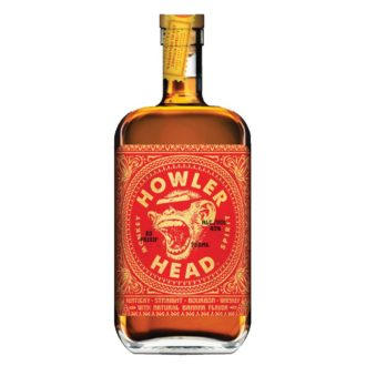 Howler Head Banana Whiskey, Banana Bourbon, Banana Whiskey, Unique Whiskey, Monkey Liquor, Unique Bourbon, Buy Howler Head online, Whiskey Gift BAsket