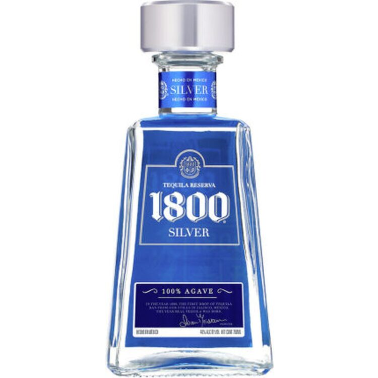 1800 SILVER TEQUILA, 1800 TEQUILA, ENGRAVED 1800 TEQUILA,1800 TEQUILA GIFT BASKET, CUSTOM TEQUILA GIFT BASKET