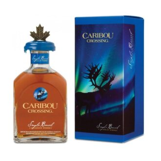 Caribou Crossing Single Barrel Canadian Whiskey, Blantons Whiskey, Caribou Crossing Whiskey, Single Barrel Whiskey, Canadian Blantons, Engraved caribou crossing, Canadian Whiskey Gift basket, Single Barrel Whiskey Gift Basket