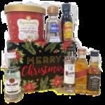 Merry Christmas Mini Bar Gift Basket