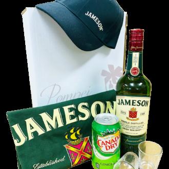 Classic Jameson Irish Whiskey Gift Set, rish Whiskey Gift Basket, jameson gift basket, irish whiskey gift basket, st patricks day gifts, st paddys day gifts, st pattys day gifts, irish gift basket, pickle back gift basket, jameson gifts, engraved jameson, jameson Gift Set