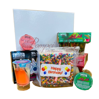 Twisted Birthday Shotz Gift Set, 21st Birthday liquor gifts, send 21st birthday gifts, Liquor Birthday Gifts, Birthday in a Box, Twisted Shotz near me, Fun 21st Birthday Gifts, Birthday Gift Set, Liquor Gift Baskets NJ