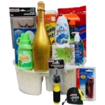 Welcome Home Sparkling Wine Gift Basket
