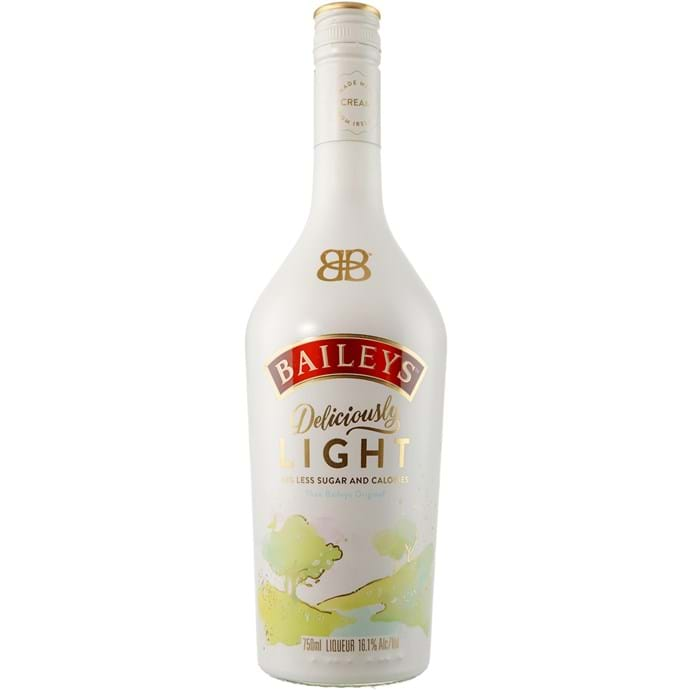 Baileys Light Irish Cream, Baileys Light, Baileys Gift Basket, Engraved Baileys Cream, Baileys Irish Cream Gifts, Light Baileys Irish Cream, Baileys Deliciously Light